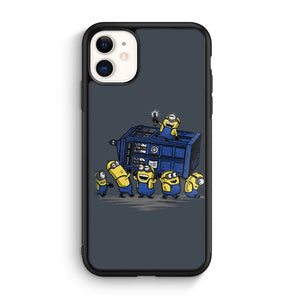 Minions Doctor Who iPhone 11 Case
