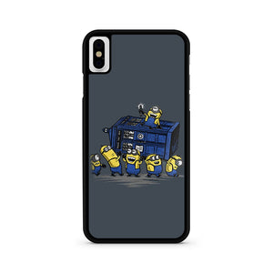 Minions Doctor Who iPhone X Case