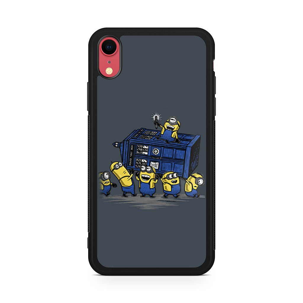 Minions Doctor Who iPhone XR Case