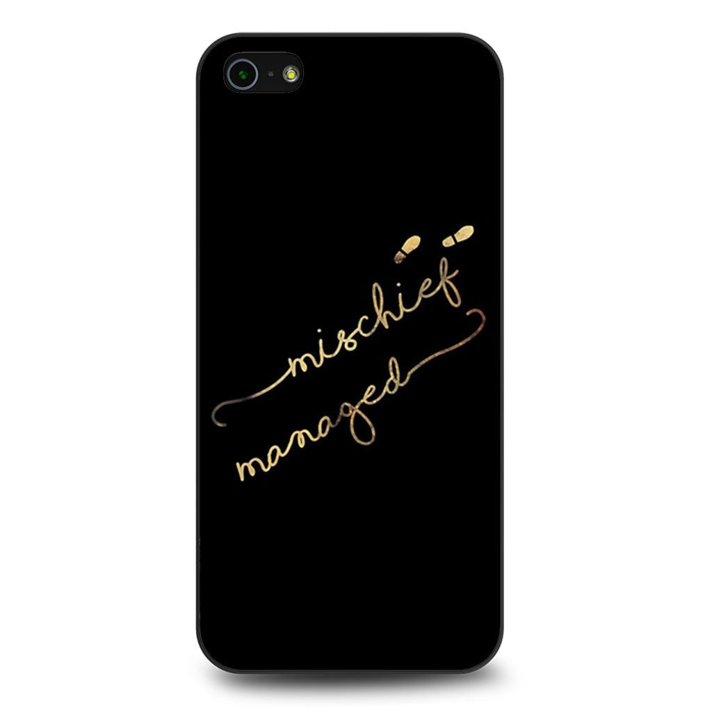 Mischief Managed Harry Potter iPhone 5 Case