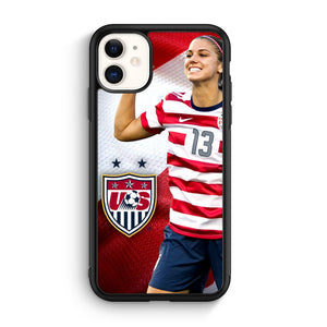 alex morgan iPhone 11 Case