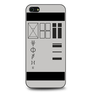 all of tyler josephs tattoos iPhone 5 Case