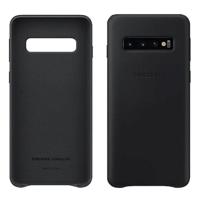 Custodia Originale Samsung Leather Cover EF-VG975 Galaxy S10+ Blister Rotto