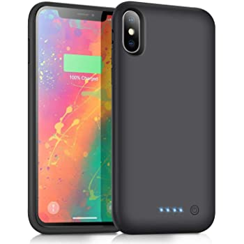 Cover Batteria per iPhone XS Max 7800mAh Custodia Ricaricabile con...