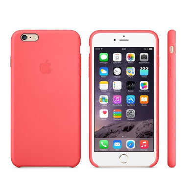 Custodia Cover Rosa Originale Case Silicone Apple MGXW2ZM/A Iphone 6 Plus  Bulk