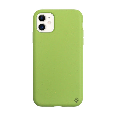Uunique London Cover Custodia Ecocompatibile Biodegradabile iPhone 11 Pro  Verde