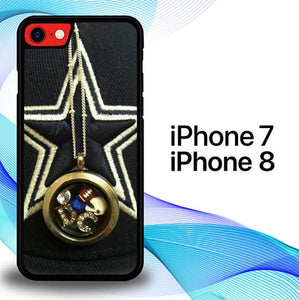 Custodia Cover iphone 7 8 Dallas Cowboys Favorite S0087 Case
