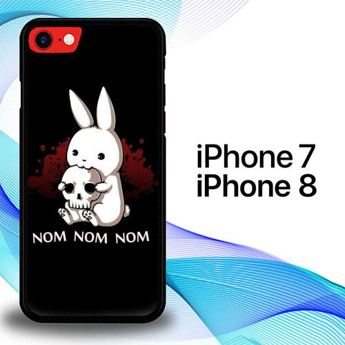 Custodia Cover iphone 7 8 Evil Bunny S0180 Case