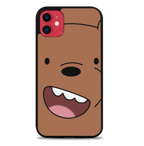 Custodia Cover iphone 11 pro max Grizzly We Bare Bears AP0026 Case