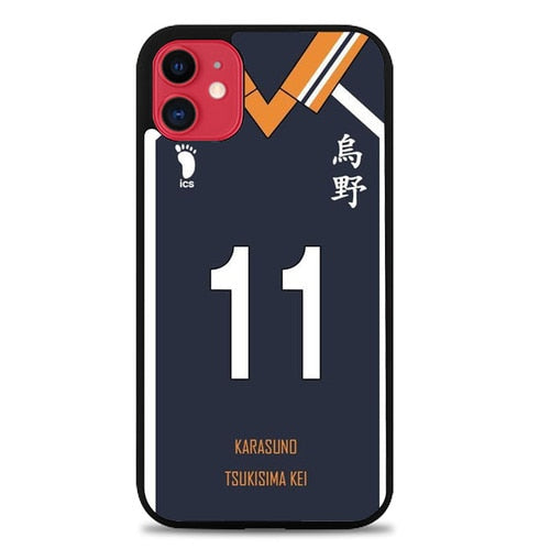Custodia Cover iphone 11 pro max Jersey Tsukisima Kei AP0041 Case