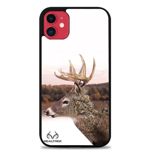 Custodia Cover iphone 11 pro max Realtree Deer and Hunter O7278 Case