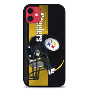 Custodia Cover iphone 11 pro max Pittsburgh Steelers O7356 Case