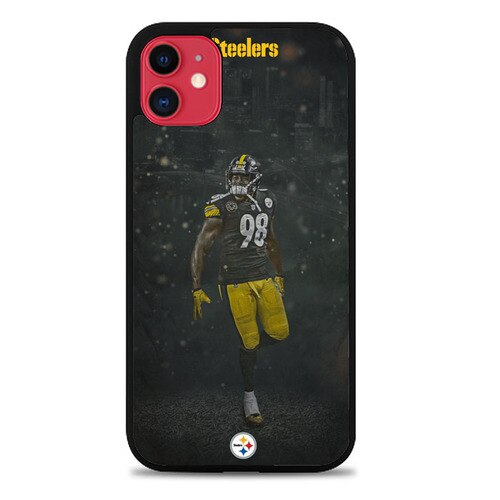 Custodia Cover iphone 11 pro max Player Pittsburgh Steelers O7359 Case