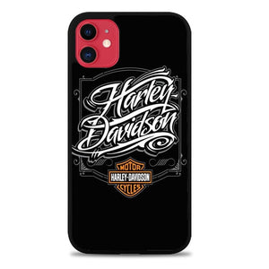 Custodia Cover iphone 11 pro max Motorcycle Harley Davidson O7382 Case