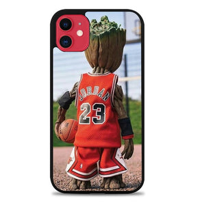 Custodia Cover iphone 11 pro max Groot Jordan B0513 Case