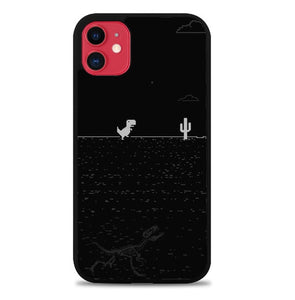 Custodia Cover iphone 11 pro max Dino Game B0544 Case
