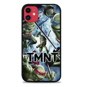Custodia Cover iphone 11 pro max Tmnt Teenage Mutant Ninja Turtle Z0654 Case