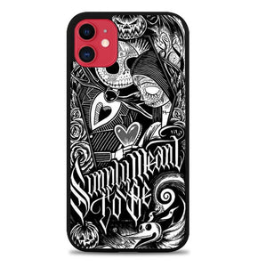 Custodia Cover iphone 11 pro max Jack And Sally Muertitos The Nightmare Before Christmas F0874 Case