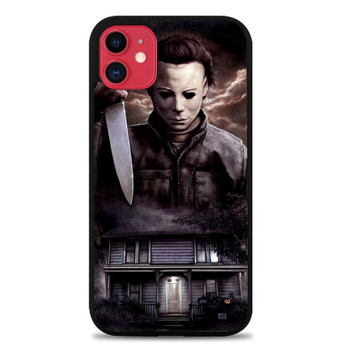 Custodia Cover iphone 11 pro max Michael Myers Halloween Z1319 Case