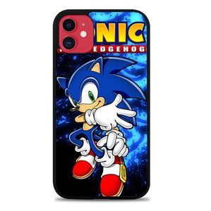 Custodia Cover iphone 11 pro max Sonic The Hedgehog Z2243 Case