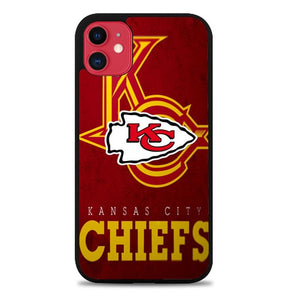 Custodia Cover iphone 11 pro max Kansas City Chiefs Z3011 Case