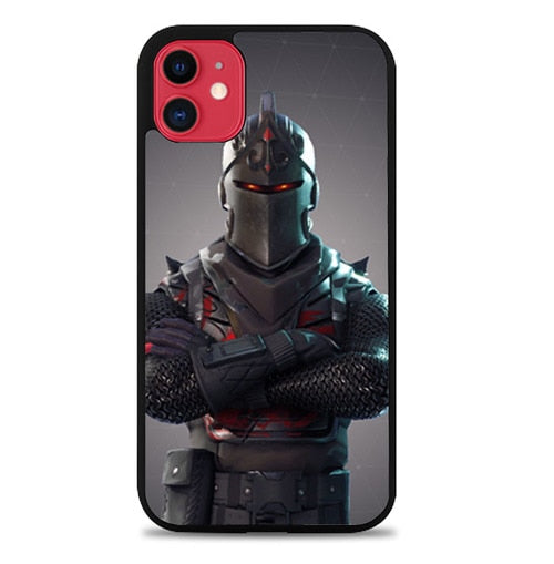 Custodia Cover iphone 11 pro max fortnite black knight Z5039 Case