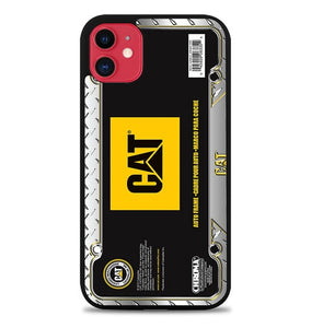 Custodia Cover iphone 11 pro max Caterpillar Tractor Carbon Z5091 Case