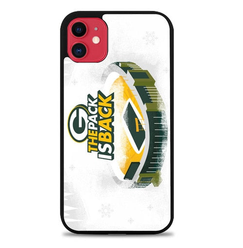 Custodia Cover iphone 11 pro max green bay packers Z5096 Case