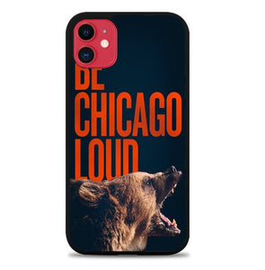 Custodia Cover iphone 11 pro max chicago bears Z5099 Case