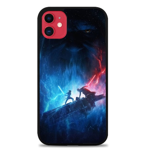 Custodia Cover iphone 11 pro max star wars the rise of skywalker Z5101 Case