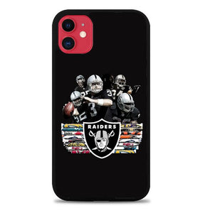 Custodia Cover iphone 11 pro max Oakland raiders Z5109 Case