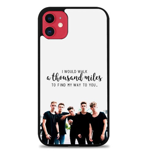 Custodia Cover iphone 11 pro max why dont we Z5122 Case