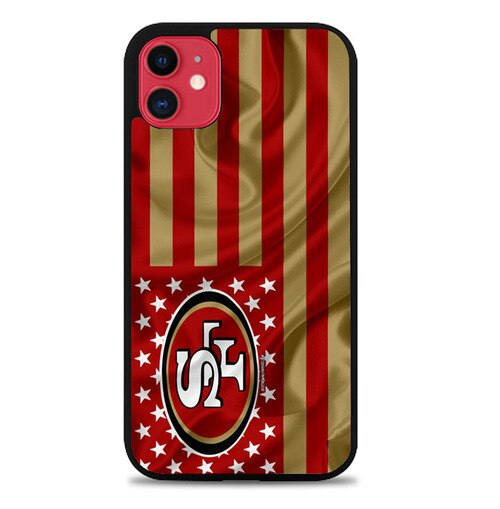 Custodia Cover iphone 11 pro max san francisco 49ers Z5131 Case