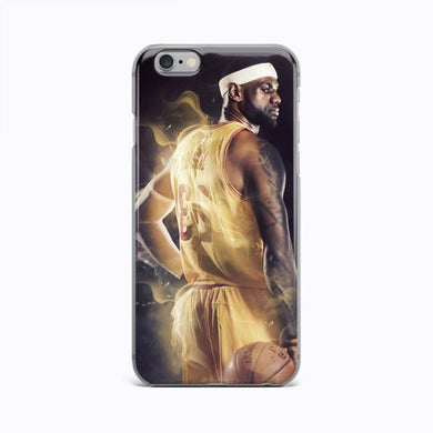 LEBRON JAMES NBA caso iPhone 7 8 CUSTODIA X XR Plus XS in silicone cover  iPhone 11 Pro