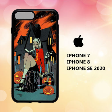 custodia cover iphone 5 6 7 8 plus x xs xr case Y6326 cute halloween wallpaper 61zF7