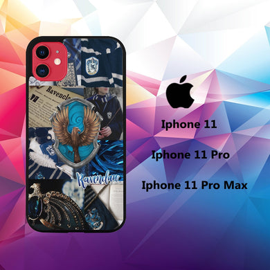 cover custodia case iphone 11 C8480 ravenclaw wallpaper 51yX9