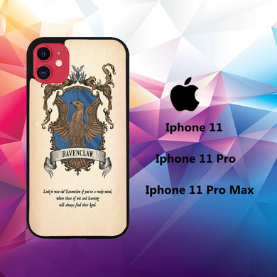cover custodia case iphone 11 Q7594 ravenclaw wallpaper 51cW4