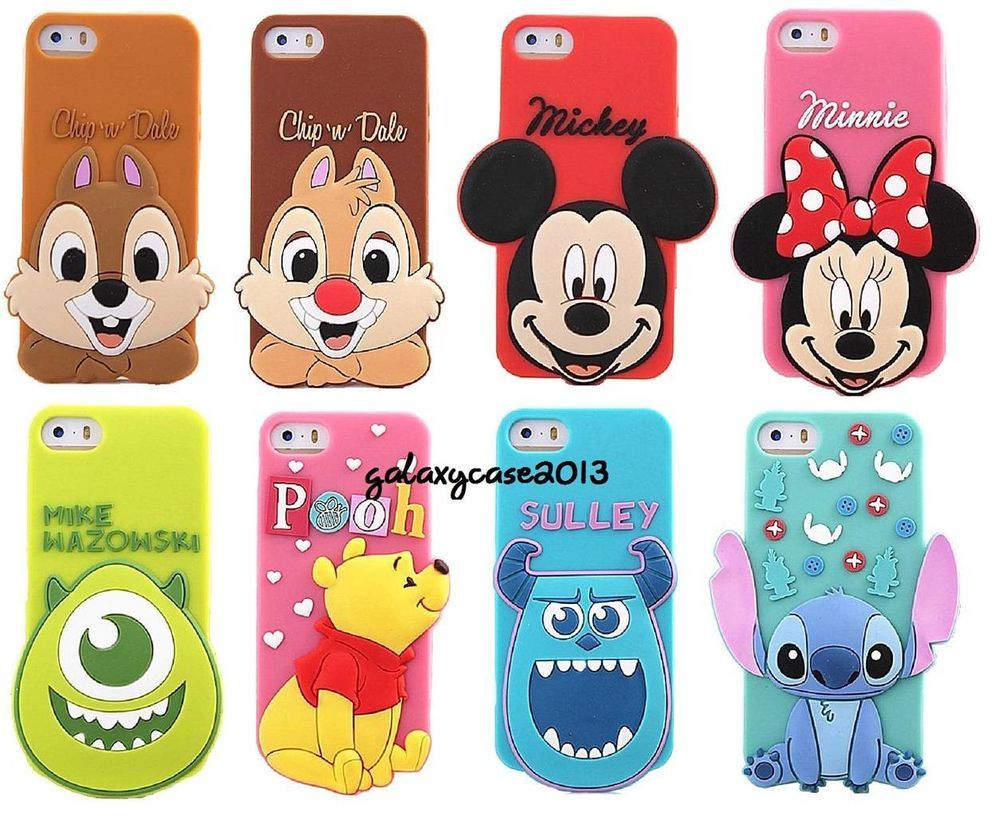 cover iphone 7 disney silicone 3d