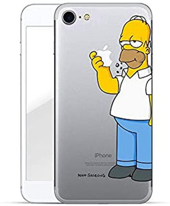 cover iphone 7 homer simpson