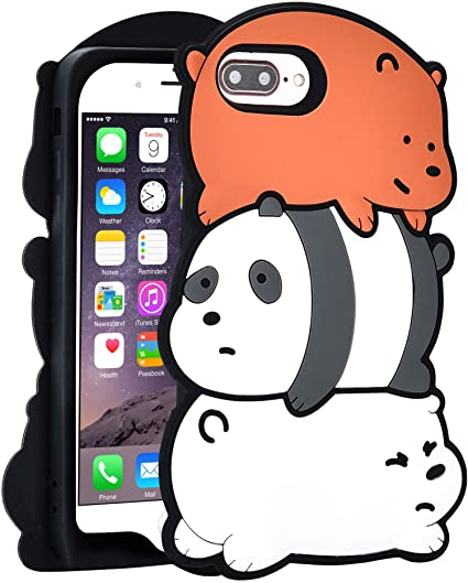 cover iphone 7 plus silicone 3d