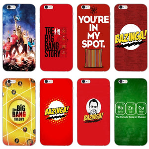 cover iphone 7 the big bang theory