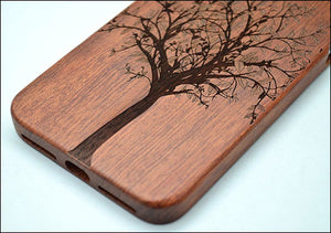 cover iphone 7 wood