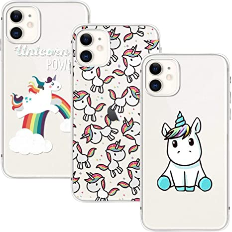 cover iphone unicorno