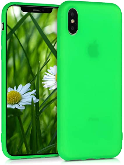 cover iphone xs verde