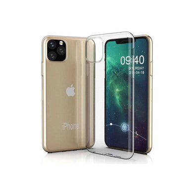 COMPATIBILE APPLE CUSTODIA per APPLE IPHONE 11 PRO (5.8') IN GEL TPU  SILICONE TR