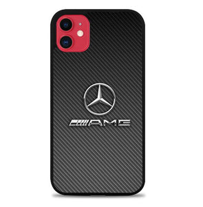 Custodia Cover iphone 11 pro max mercedes benz amg X01208 Case
