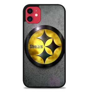 Custodia Cover iphone 11 pro max pittsburgh steelers X01202 Case
