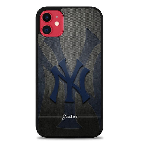 Custodia Cover iphone 11 pro max new york yankees X01275 Case