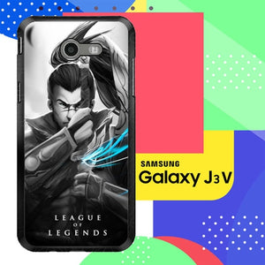Custodia Cover samsung galaxy J3 2017 League of Legends Yasuo X3725 J3 Emerge, J3 Eclipse , Amp Prime 2, Express Prime 2 2017 SM J327 Case