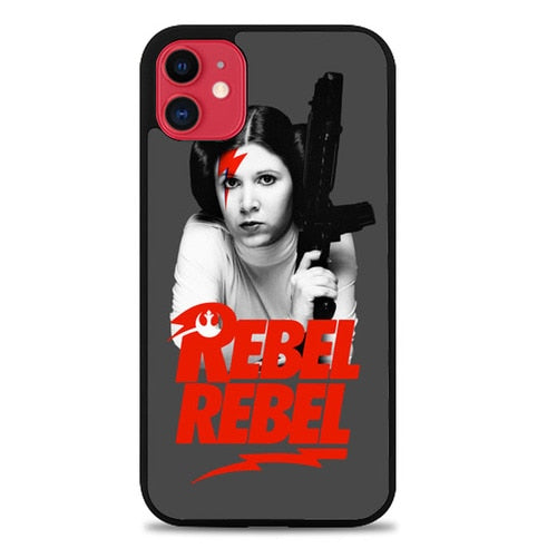Custodia Cover iphone 11 pro max Princess Leia Rebel Rebel X6229 Case
